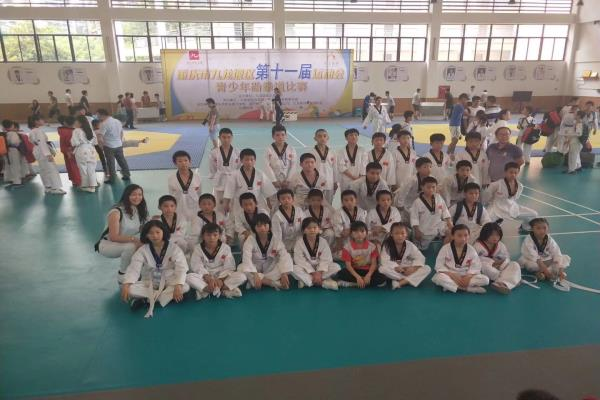 重庆市九龙坡区第十一届运动会青少年跆拳道比赛