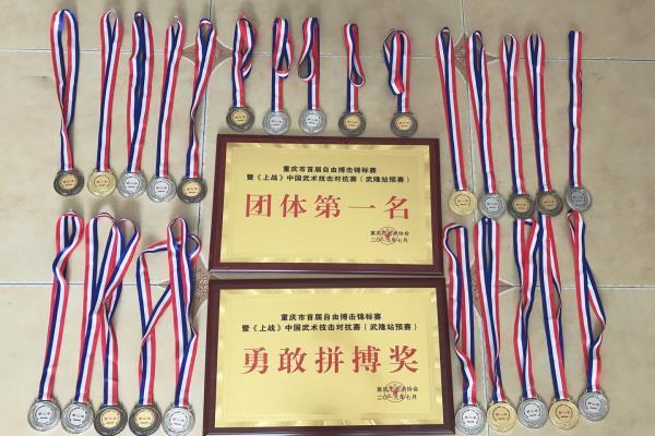重庆市首届自由搏击锦标赛暨《上战》中国武术技击对抗赛